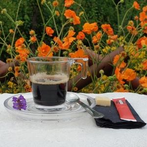 Tasse à café réutilisable empilable et incassable