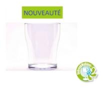 verre incassable DEMI-PINTE 25-33CL réutilisable et recyclable